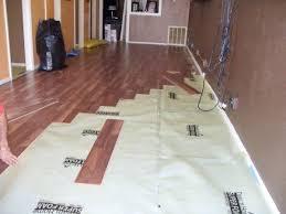 installing a vinyl flooring