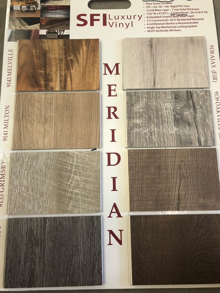 meridian flooring samples