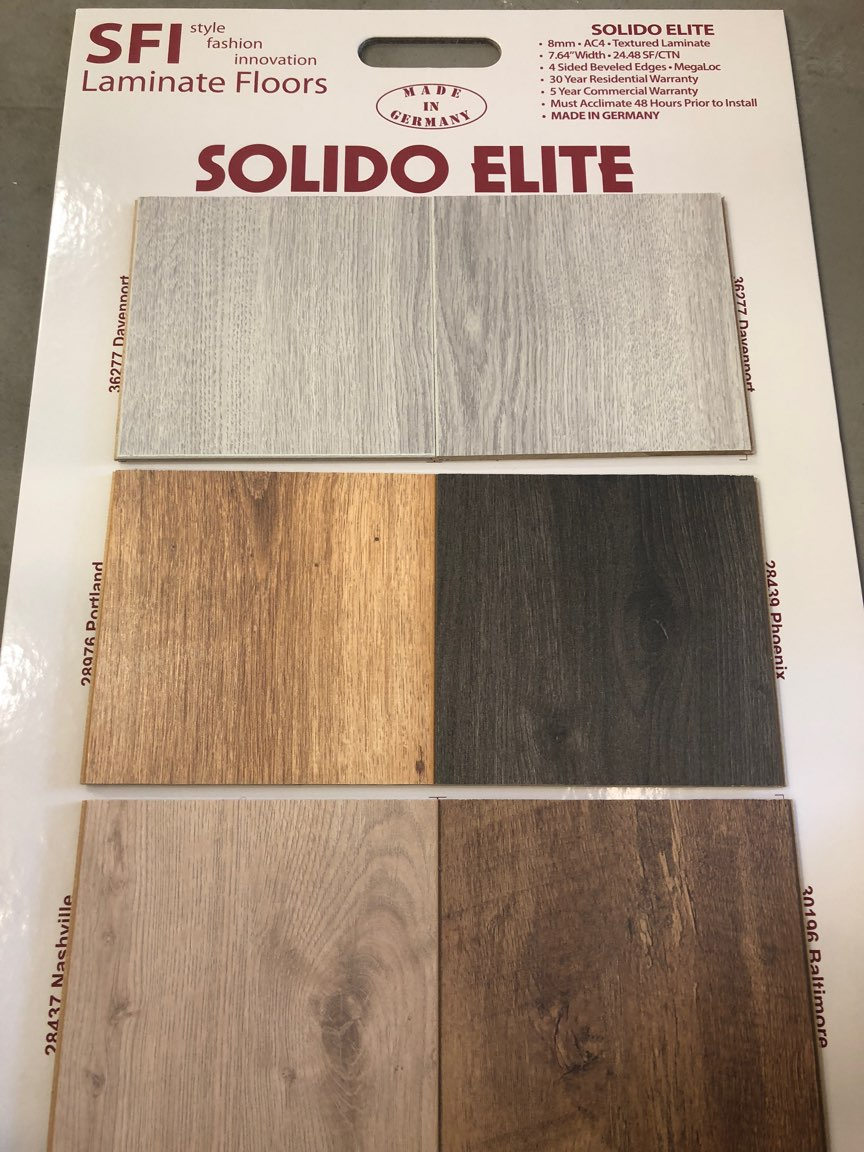 SFI Elite laminate flooring