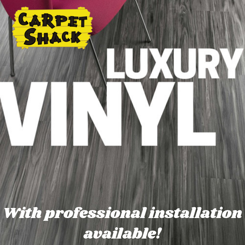 selections of luxury vinyl products